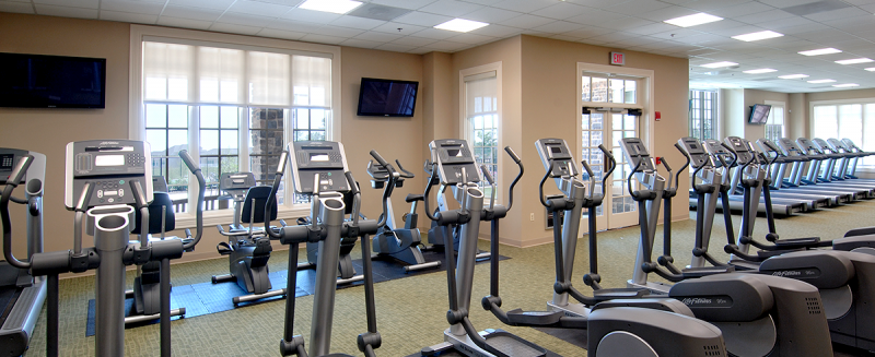 Fitness Center at Bulle Rock New Homes in Harford County