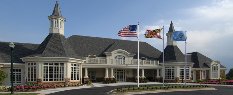 Residents' Club at Bulle Rock New Homes in Harford County